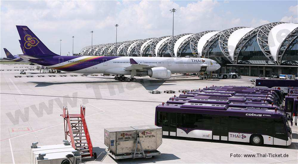thai airways bangkok flug tickets